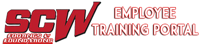 SCW Employee Training Portal